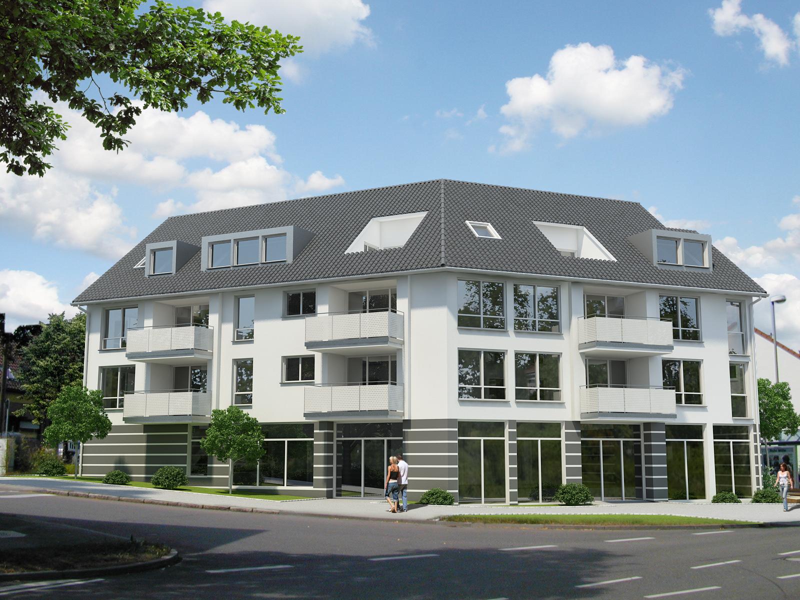 regiebau gmbh modernes mehrfamilienhaus im herzen von stuttgart. Black Bedroom Furniture Sets. Home Design Ideas